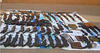 Weapons recovered by Mexican military in Naco, Sonora, Mexico on November 20, 2009. They include weapons bought two weeks earlier by Operation Fast and Furious suspect.