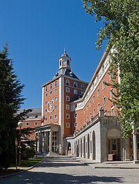 The rectorate of the Complutense University of Madrid