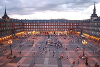Plaza Mayor, built in the 16th century
