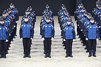 Municipal police agents from the 2018 promotion