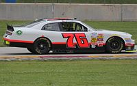 Martins in the No. 76 at Road America in 2014.