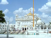 Shri Hazoor Sahib is a gurdwara in Nanded, Maharashtra, India; is one of the five {{lang|pa-Latn|takhts}}.