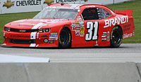 Allgaier's BRANDT Agriculture Chevy at Road America in 2013