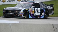 Rookie of the Year Kyle Larson at Road America in 2013.