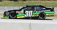 Nelson Piquet, Jr.'s pole and race winning car at Road America in 2012.