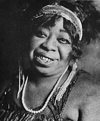 Ma Rainey (1886–1939) was one of the earliest known American professional blues singers and one of the first generation of such singers to record.