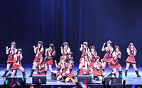 The Japanese idol girl group AKB48 is the best-selling act in Japan by number of singles sold.