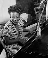 Mary Lou Williams (1910–1981) was a pianist, composer and arranger who played jazz, classical and gospel music. She wrote hundreds of compositions and arrangements and recorded more than one hundred records.