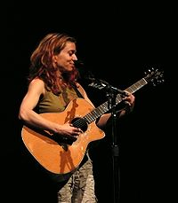 Songwriter, singer and multi-instrumentalist Ani DiFranco has had a lot of artistic freedom during her career, in part because she founded her own record label, Righteous Babe. She has become a feminist icon and is a supporter of many social causes.