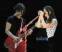 The White Stripes were one of the most successful emerging American rock acts of the decade.