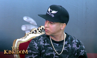 Daddy Yankee during an interview.