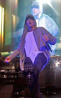 American rapper Eminem is the most commercially successful artist of the decade