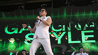 """Psy's song """"Gangnam Style"""" broke the record for the most number of YouTube views during 2012 until 2017."""