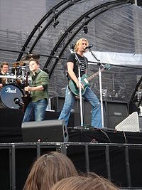Nickelback has sold over 50 million albums and was one of the biggest post-grunge bands of the decade.