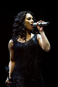 Alicia Keys was the best selling female R&B performer of the 2000s.