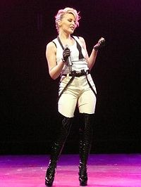 Kylie Minogue is considered the biggest Australian pop act of the decade.
