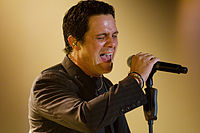 """Alejandro Sanz a Spanish musician collaboration with Shakira on the 2005 single """"La Tortura"""" reached number one on several charts worldwide."""