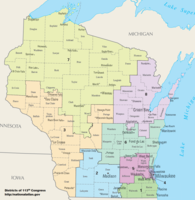 United States congressional delegations from Wisconsin