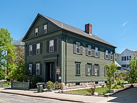 The Borden family home, now a bed-and-breakfast