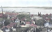 View of bay in 1905