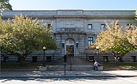 Fall River Public Library main building, 2013