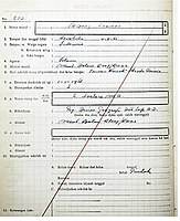 Barack Obama's school record in St. Francis of Assisi Catholic Elementary School. Obama was enlisted as Barry Soetoro in the school (no. 1) and was wrongly acknowledged as a Muslim (no. 4).
