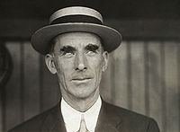 Connie Mack, owner and manager of the Philadelphia Athletics.