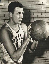 Paul Arizin, one of the 50 Greatest Players in NBA History