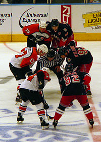 The Flyers and the Rangers take a face-off