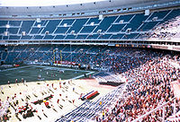 Veterans Stadium formerly housed the Eagles and the Phillies.
