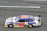 David Reutimann clinched his second career victory after the race.