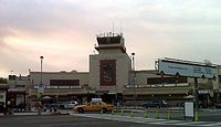 Front of Bob Hope Airport, 2009