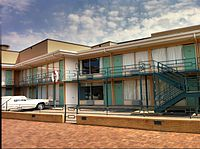 National Civil Rights Museum at the Lorraine Motel in Memphis (2012)