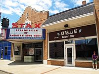 Stax Museum and Satellite Record Shop