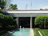Jimmy Carter Library and Museum located in Atlanta, Georgia