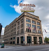 The Columbus Dispatch Building, 90-year home to the newspaper