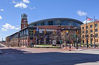 Nationwide Arena, home of the NHL's Columbus Blue Jackets