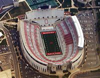The Ohio Stadium, on the OSU Campus, is the 7th-largest non-racing stadium in the world.