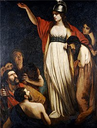 Boudica led an uprising against the Roman Empire.