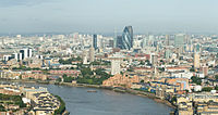 The City of London is the financial capital of the United Kingdom and one of the largest financial centres in the world.