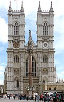 Westminster Abbey is a notable example of English Gothic architecture. The coronation of the British monarch traditionally takes place at the Abbey.