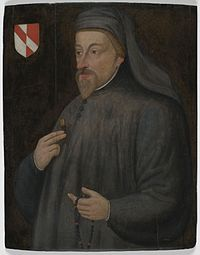 Geoffrey Chaucer was an English author, poet and philosopher, best remembered for his unfinished frame narrative The Canterbury Tales.