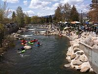 Reno Whitewater Festival at the whitewater park in Reno