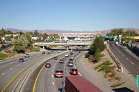 I-80 in Downtown Reno