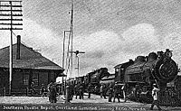 The Overland Limited at Reno in 1913