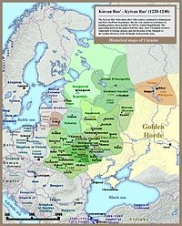 Rus' principalities before the Mongol and Lithuanian invasions
