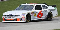 Ricky Stenhouse Jr.'s 2011 Nationwide championship car at Road America.