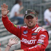 Justin Allgaier finished third in the championship, 117 points behind Stenhouse.