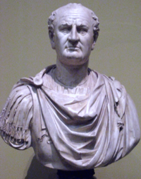 Bust of Vespasian, founder of the Flavian dynasty