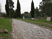 The Appian Way (Via Appia), a road connecting the city of Rome to the southern parts of Italy, remains usable even today